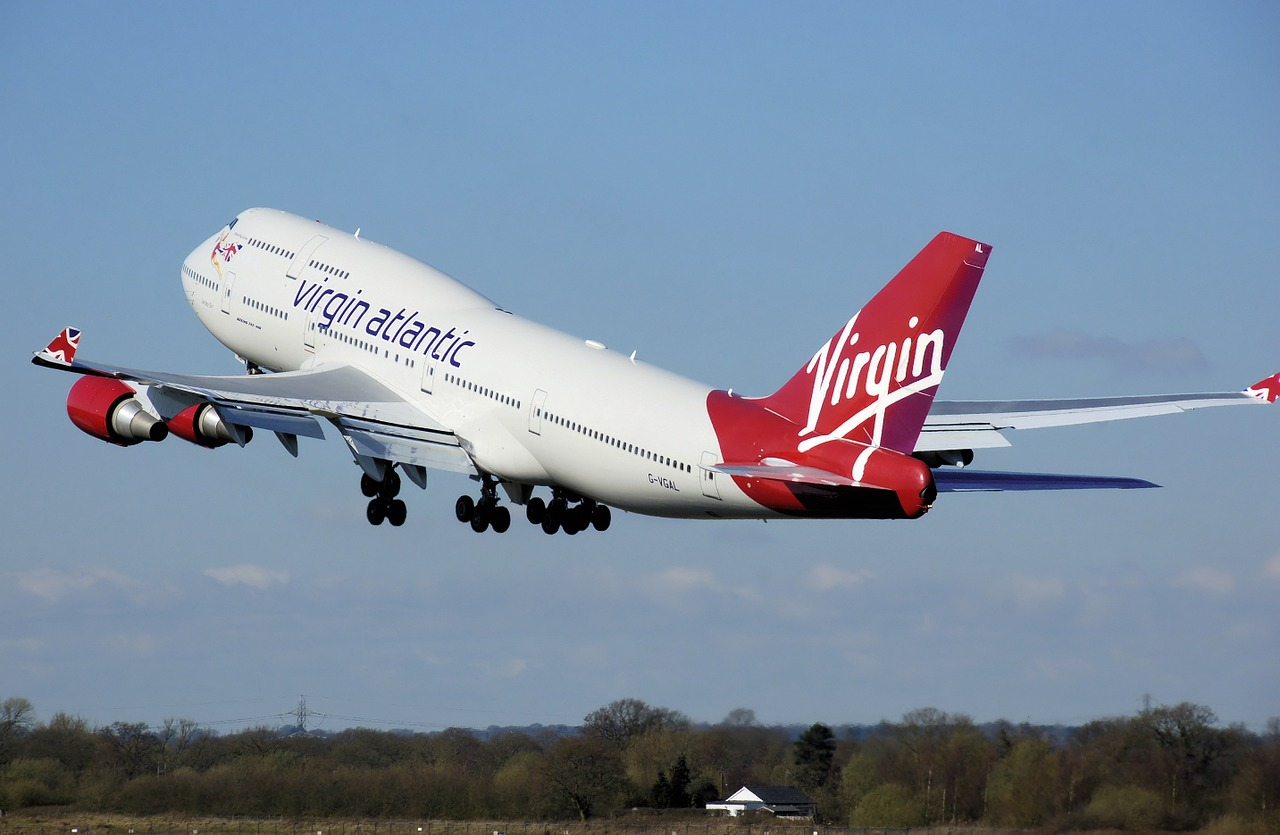 Virgin Airplane